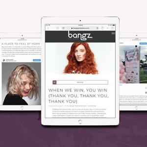 STAMP 2019: The Bangz Blog Celebrates Salon's Success without Bragging