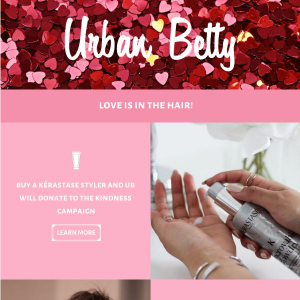 Using the graphic design app Canva, Urban Betty revamped its email newsletter and doubled its...