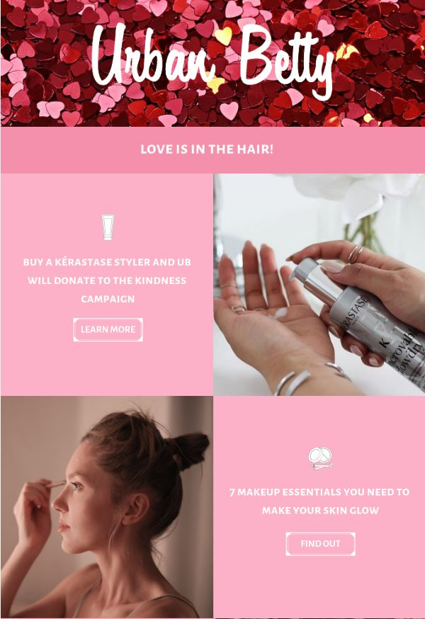 STAMP 2019: Urban Betty's Revamped Email Newsletter