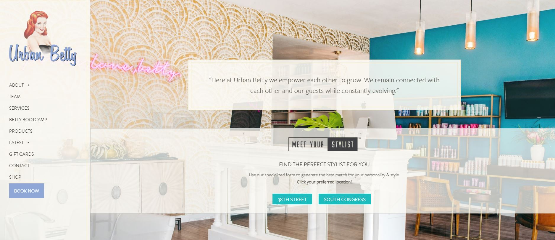STAMP 2019: Urban Betty's New Website Drives In New Clients