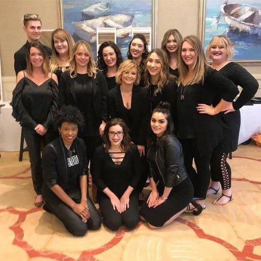 The team from Avantgarde Salon Inc. in Destin, FL.   -