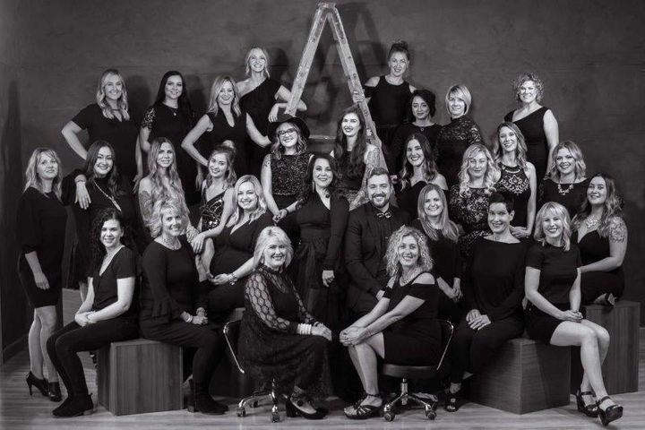 The team from Impressions Salon in Mequon, WI. 