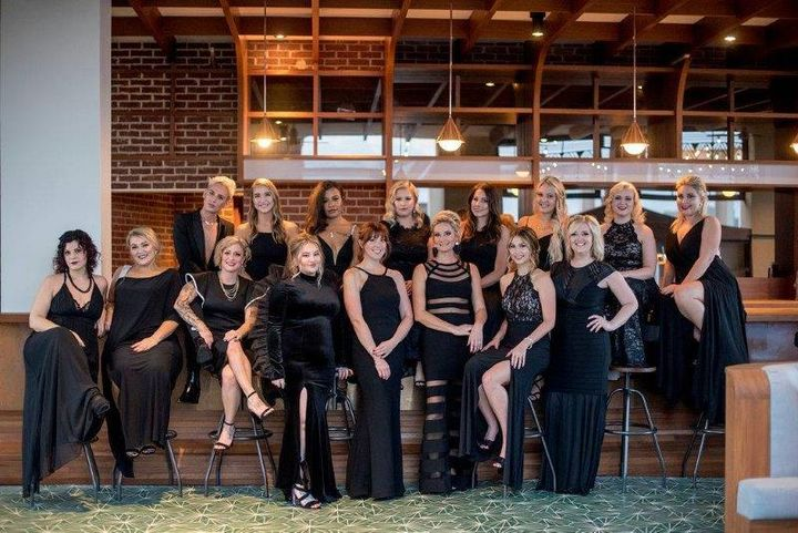The team from 40 Volume Salon in Savannah, GA.