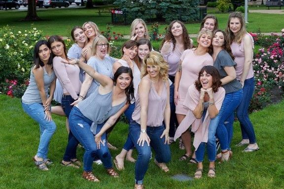 The team from Allure Designs Salon in Libertyville, IL.