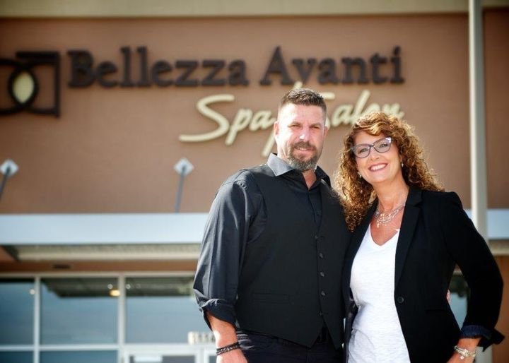 Steve and Geri Good, owners of Bellezza Avanti Spa Salon in Wadsworth, OH. 