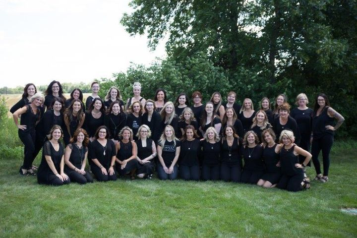 The team from Daylily Spa Salon in Saint Cloud, MN. 