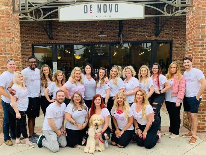 The team from De Novo Salon in Pensacola, FL. 