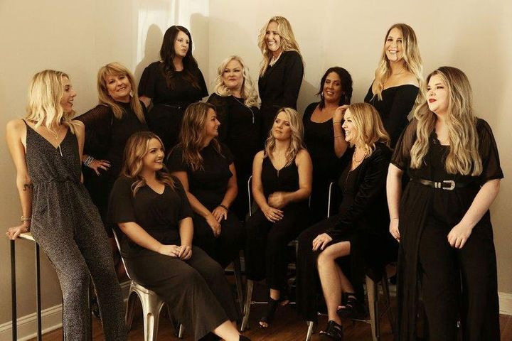 The team from Elements Salon in Fernandina Beach, FL.