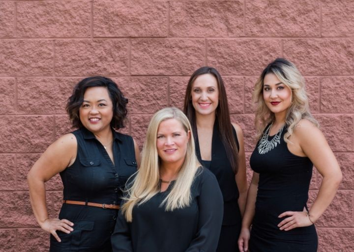 The team from Posh Salon in Williamsburg, VA.