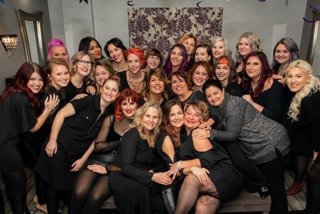 The team from S-Kape Salon & Spa in Leonardtown, MD. 