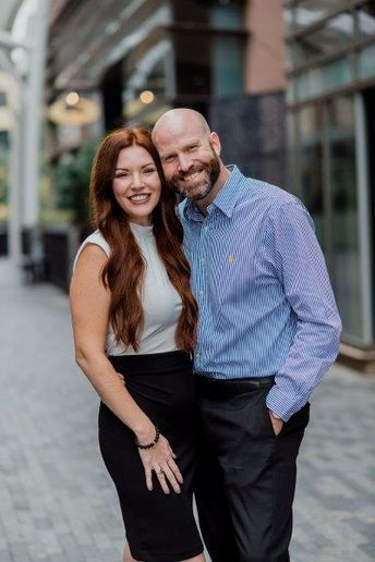 Adelle and Travis Graham, owners of Salon Adelle in Greenville, SC.
