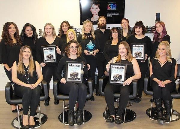 The team from Salon Halo in Spring Hill, FL. 