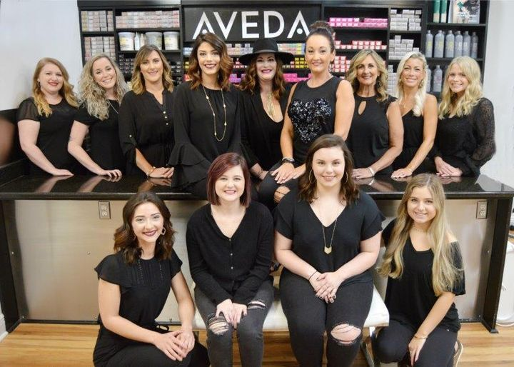 The team from Salon Thirty One in Spanish Fort, AL.