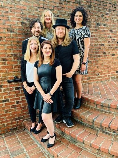 The team from Sean Rocco Salon in Charlotte, NC. 