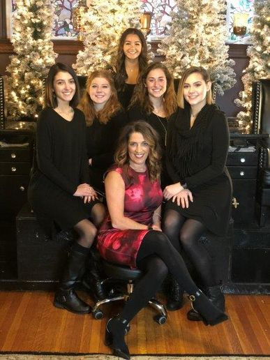 The team from The Spa on West Main in Westminster, MD.