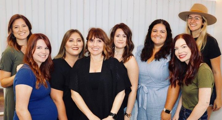 The team from Traci Woodard Salon in Destrehan, LA. 