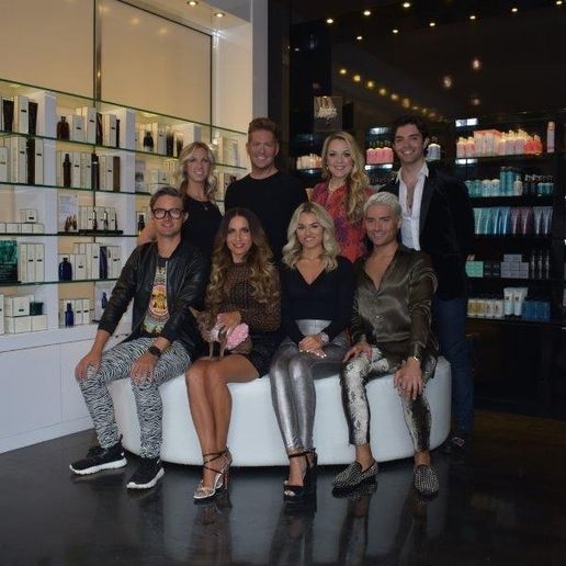 The team from Twiggs Salon in Wayzata, MN. 