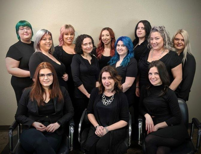 The team from Utopia Salon & Day Spa in Vancourver, WA. 