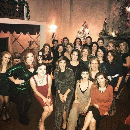 The team from Salon Allure in Huntsville, AL.   -