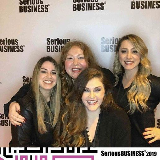 The team from J. Nicolle Salon and Spa in New Albany, IN.