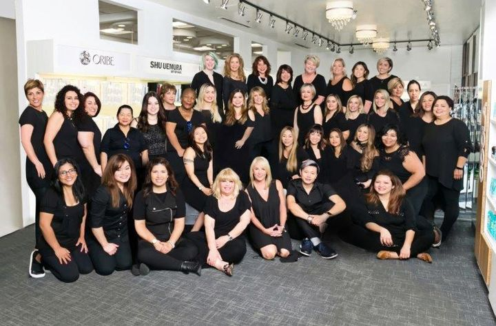 The team from Progressions Salon Spa Store in Rockville, MD.