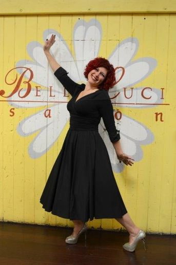 Rebecca Lee, owner of Bella Luci Salon in Poughkeepsie, NY.  -