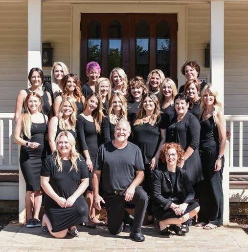 The team from Craig Berns Salon Spa in Delafield, WI.
