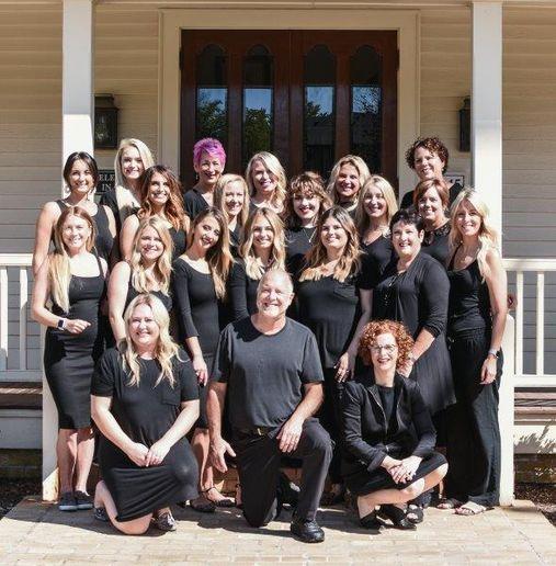 The team from Craig Berns Salon Spa in Delafield, WI.  -