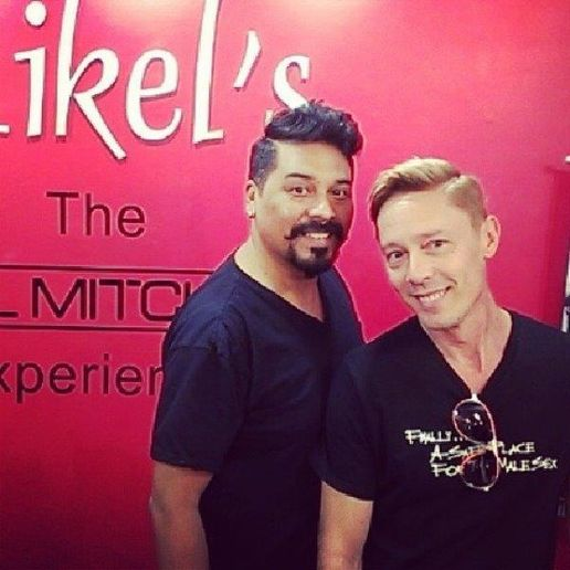 The team from Mikel's The Paul Mitchell Experience in Tampa, FL. 