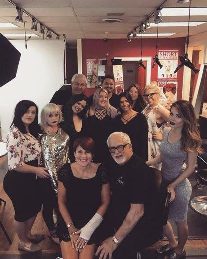 The team from Paul Kenneth Salon & Spa in Woburn, MA.  -