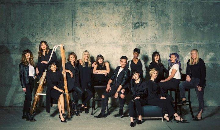 The team from Salon 01 in Carmel, IN.   -