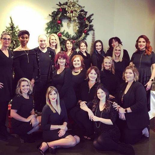 The team from The Studio Aveda Salon in Hattiesburg, MS.   -