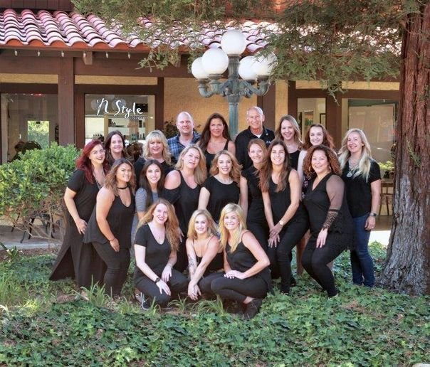 The team from N Style Salon in Saugus, CA.