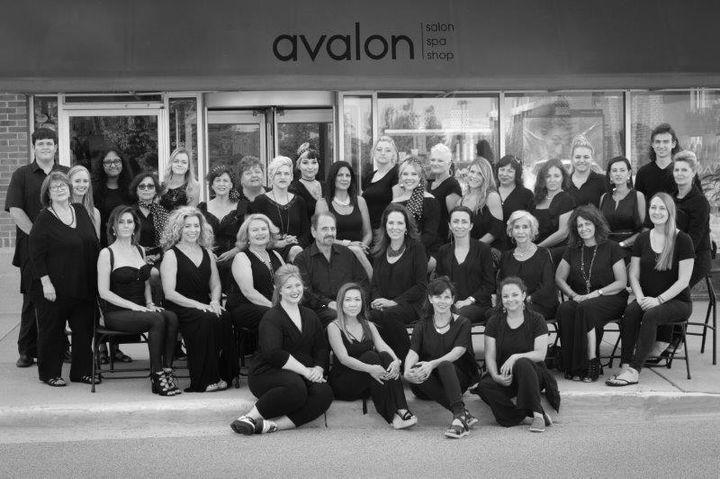 The team from Avalon Salon and Spa in Deer Park, IL. 