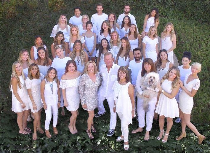 The team from Headlines The Salon in Encinitas, CA.