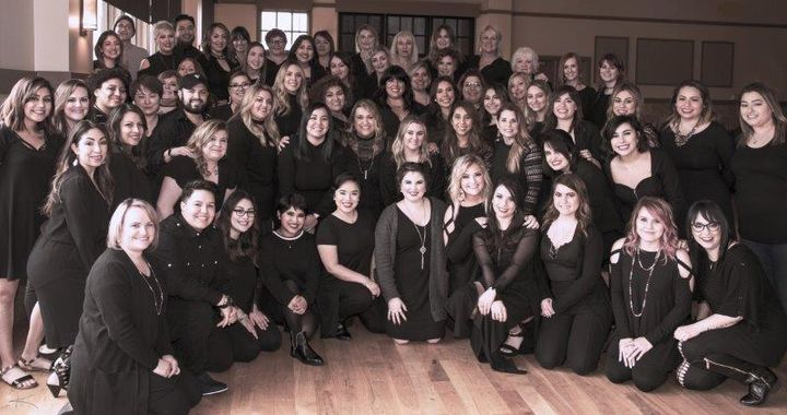 The team from K Charles Salons in San Antonio, TX. 