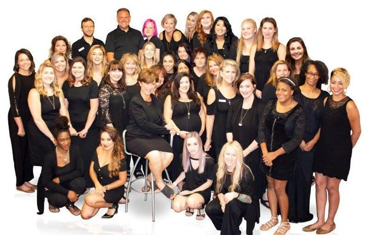 The team from Savvy Salon and Day Spa in Cornelius, NC. 