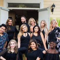 The team from Salon M2 in Charlotte, NC.