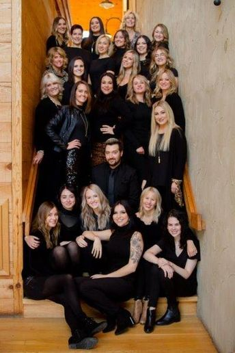 The team from Impressions Salon in Mequon, WI.   -
