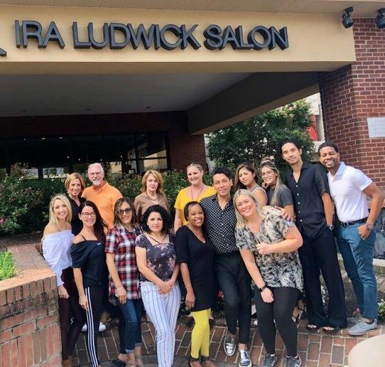 The team from Ira Ludwick in Bethesda, MD.  -