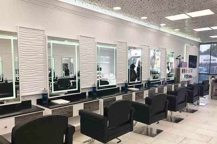 A look inside one of the J. Joseph Salons in Land O' Lakes, FL.  -