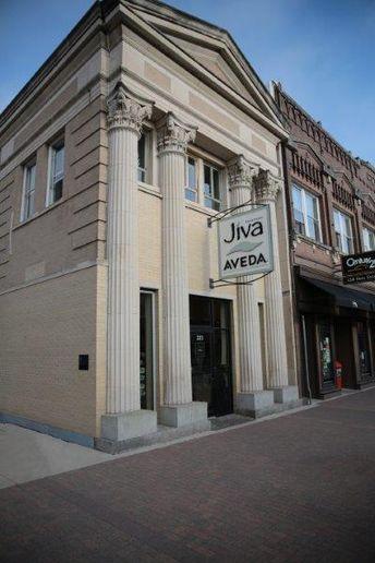 Jiva Salonspa stands proud in Cedar Falls, IA.  -