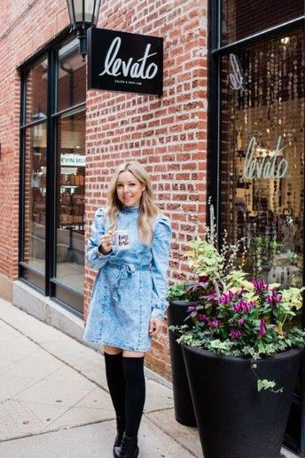 Ashley Carlevato, owner of Levato Salon & Skin Lab in Hinsdale, IL.  -