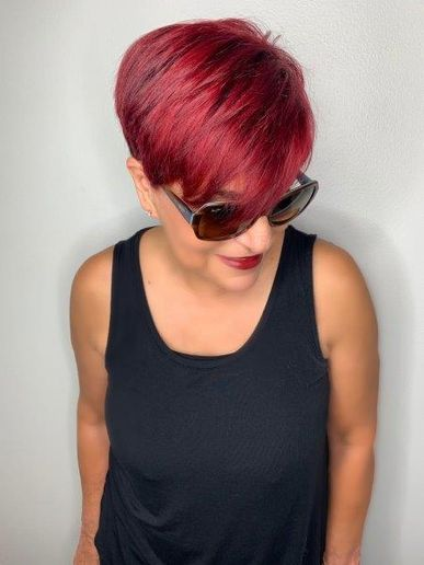 - Maggie DiFalco, owner of Maggie The Salon in Pembroke Pines, FL.