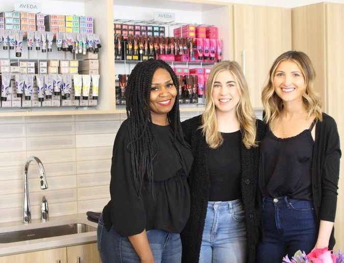 Team members from Neroli Salon & Spa in Glendale, WI.  -