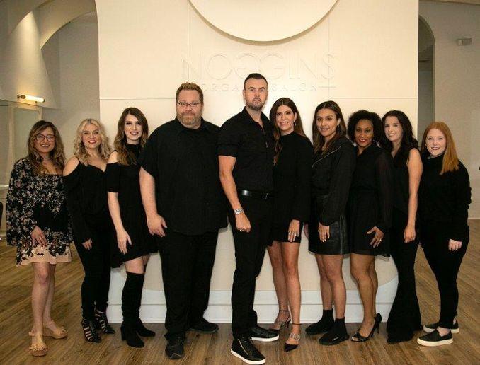 The team from Noggins Salon in Ridgeland, MS.  -