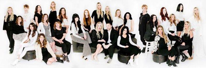 - The team from Ottalaus Salon in Lehi, UT.