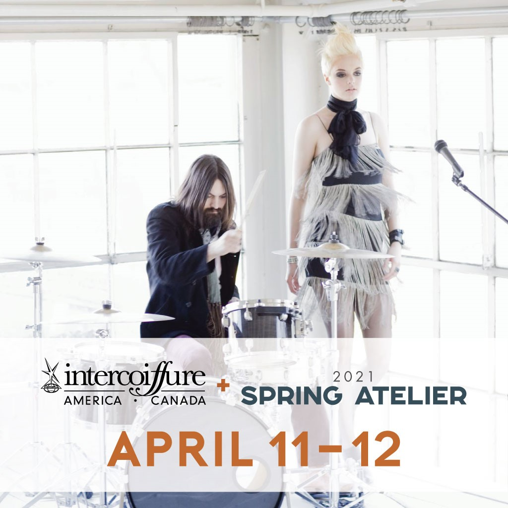 Intercoiffure's Spring Atelier Open for Streaming to Any Beauty Professional