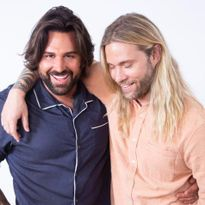 Ryan Trygstad and Mark DeBolt, owners of the new Mark Ryan Salon in Manhattan.