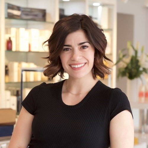 Jordan Becker, director of Marketing and Business Development for Interlocks Salon + Spa in Newburyport, MA. 